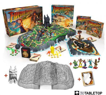 Fireball Island Kickstarter Pledge Sealed