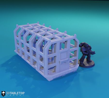 Containment Field Shipping Container