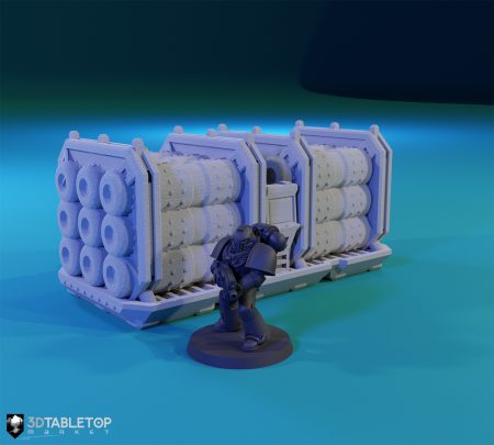 Fuel Cells Shipping Container