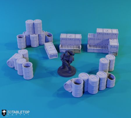 Barrels and Cargo Scatter Pack