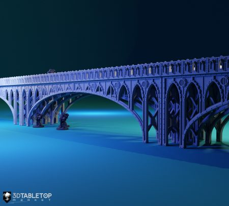 Elevated Bridge Platform (Half Meter)