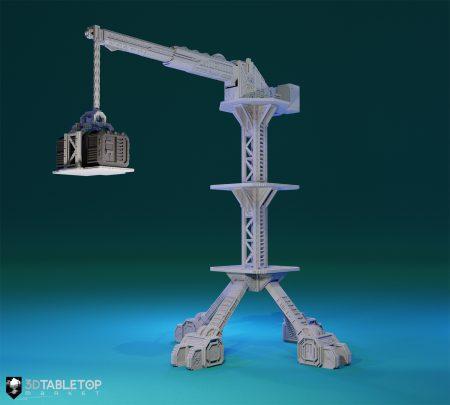 Orbital Navy Heavy Lifter Crane