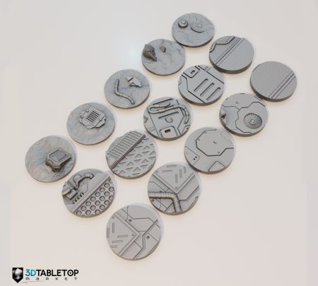 40mm Lost Colony Sci-fi Bases
