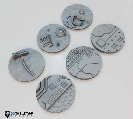 60mm Lost Colony Sci-fi Bases