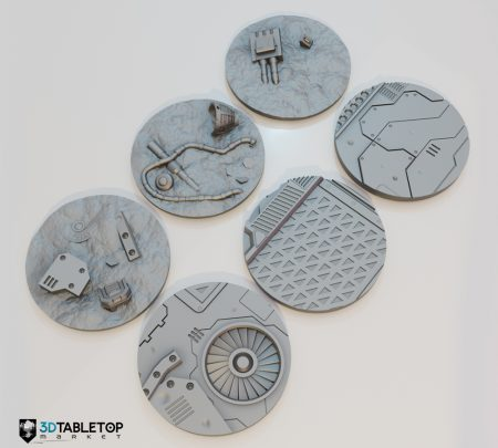 70mm Lost Colony Sci-fi Bases