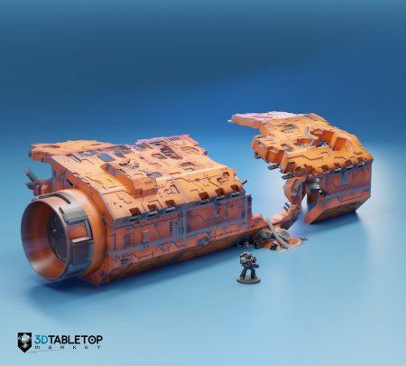 Cargo Hauler Carcass